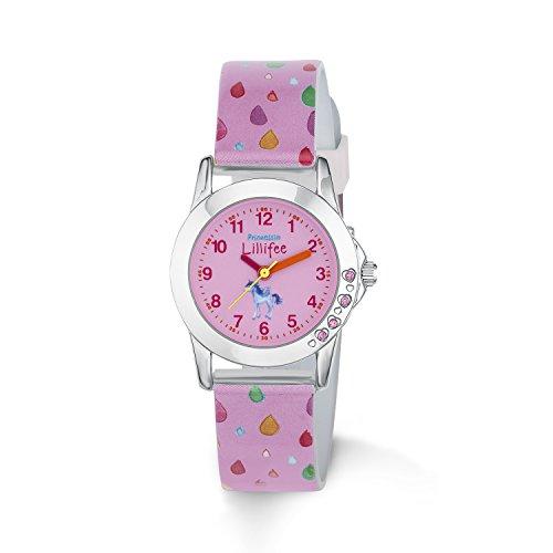 Prinzessin Lillifee Mädchen Analog Quarz Uhr mit Plastik Armband 2013223