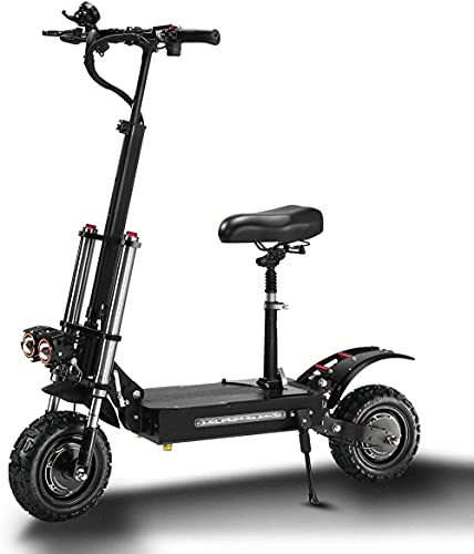 Electric Scooter 5400W Maximum Speed 85 Km / H Charging 400 Kg For Adult / Teens Lightweight Foldable Adult Kick City Scooter Switch-33 Ah.