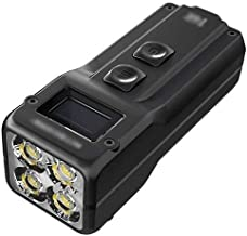 QZH Verlichtingslamp, Zaklamp LED Tactische Zaklamp Zaklamp met 5 Verlichtingsmodi Torch Light voor Camping Running Walkin...