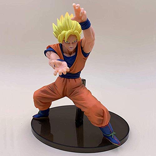 GOXJNG Anime Figur Dragon Ball Action Figure Sohn Goku Kakarotto Super Saiyan Mann 20 cm Figur Collection...