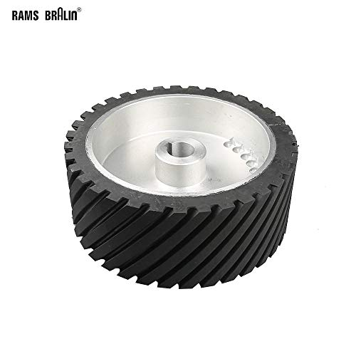 Best Bargain Xucus 25010030mm Rubber Drive Wheel with 84mm Keyway