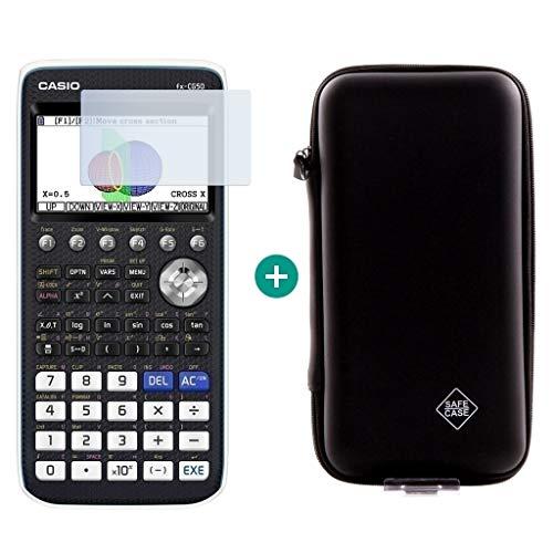 Casio FX-CG50 + protector de pantalla + funda SafeCase.