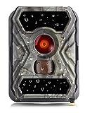 SECACAM HomeVista Full HD Profesional para Exteriores, cámaras de Seguridad Wild Cámara Visión Nocturna 100 ° Gran Angular 12 MP 1080P 0,4 seg Tiempo de Disparo, Detector de Movimiento