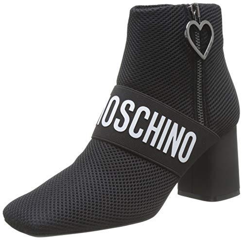 Love Moschino SCA.nod.t.grosso75 Rete, Desert Boots Femme, Noir (Black Soft 000), 40 EU