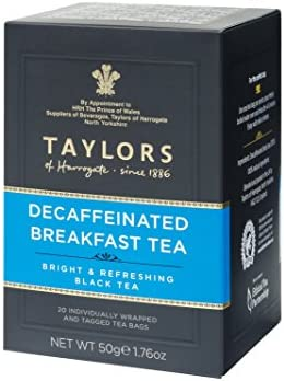 Taylors of Harrogate Decaffeinated Breakfast 20 Count Pack of 6 product image