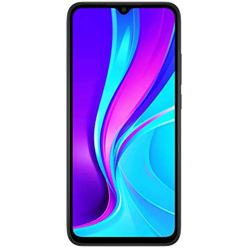 Redmi 9 (Sky Blue, 4GB RAM, 64GB Storage) - Extra INR 500 cashback as Amazon Pay Balance | 3 Months No Cost EMI on BFL