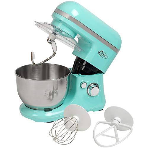 Bestron keukenmachine in retro design met garde mintgroen