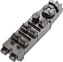 Master Power Window Switch 56049805AB for 2003 2004 2005 2006 2007 2008 2009 Dodge Ram 1500 2500 3500 Truck, 2001-2004 Dodge Dakota, 2001-2003 Dodge Durango, w/Mirror Adjust & Auto Down Control