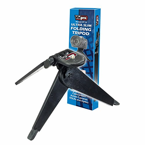"""Coleman CVW16HD Camcorder Tripod Folding Table-Top Tripod for Compact Digital Cameras and Camcorders - Approx 5"""" H"""