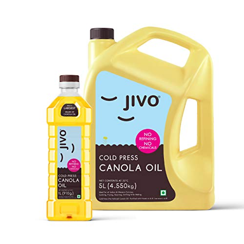 JIVO Canola Cold Press Oil ,Indian Medical...