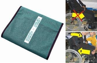 adhome–owgs–One Way Glide–Cojín antideslizante para silla con ruedas (37cm x 43cm ✅