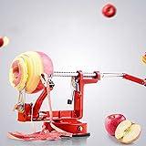 CZX Tre-in-One, Multi-Funzione in Acciaio Inossidabile Apple Peeler pelapatate Frutta/pelapatate a manovella + Slicing + Fori, di Accessori per la Cucina