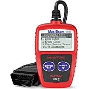 Autel MaxiScan MS309 OBD2 Reader Car Diagnostic Scanner Vehicle Engine Fault Code Reader, Turn Off Check Engine Light, Read/Erase Codes, View Freeze Frame Data, Retrieve I/M Readiness Status, View VIN