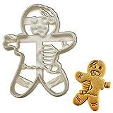 Zombie Gingerbread Man cookie cutter, 1 piece - Bakerlogy