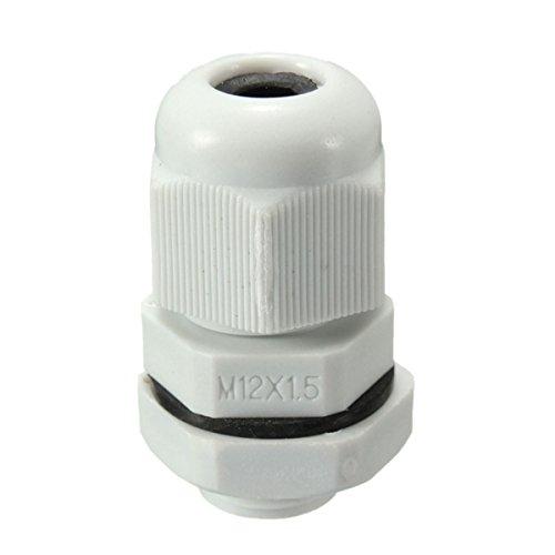 ILS waterdicht 12mm M12X1.5 IP68 kabel Gland Compression TRS Stuffing Lockmoer