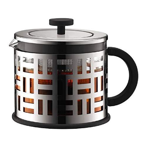 Bodum Eileen Tea Press with Plastic Infuser, Borosilicate Glass - 1.5 L/51...