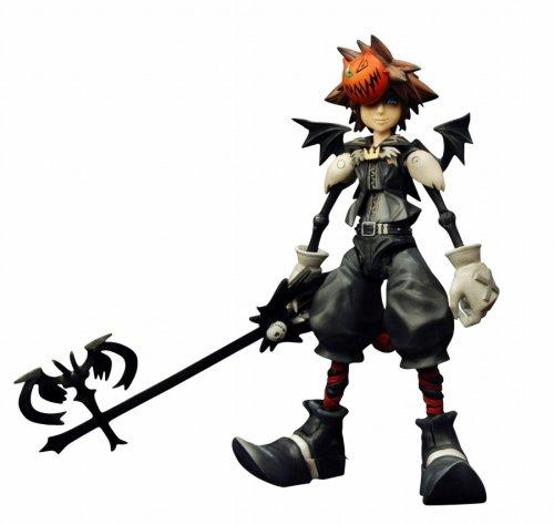Kingdom Hearts 2 Play Arts Halloween Town Sora Figure (japan import)