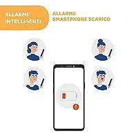 Chicco Bebècare Easy-Tech Dispositivo Anti Abbandono Universale per Seggiolino Auto, App, Bluetooth, 3 Livelli di Allarme, Allarmi Intelligenti - Bianco/Blu #6