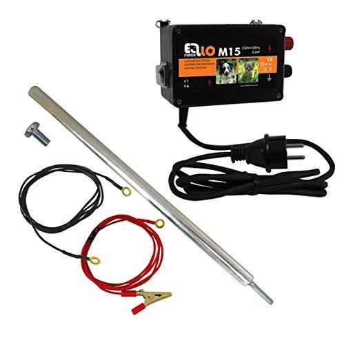 Ellofence M15 – 230V Weidezaungerät komplett mit Erdung