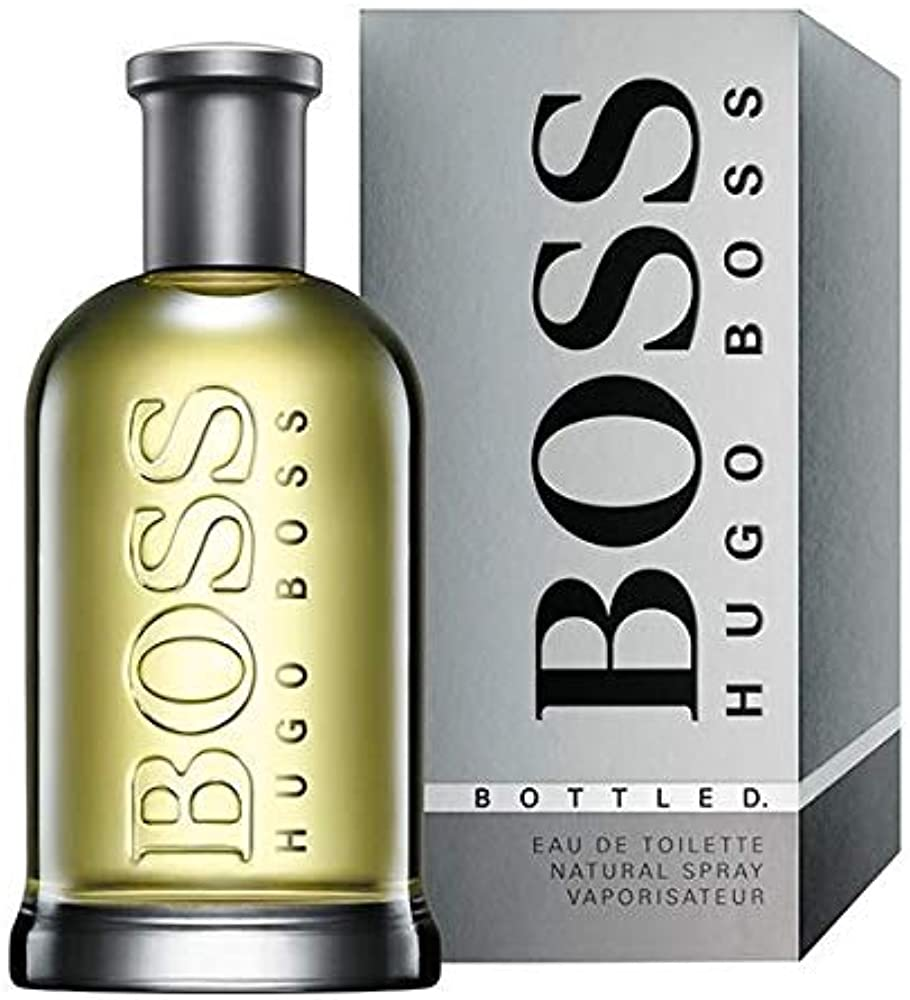 Hugo boss, boss bottled,eau de toilette,profumo per uomo,50 ml 737052351018