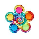 Mllkcao Fidget Toys Pop It Simple Dimple Blütenform Zappeln Squeeze Sensory Spielzeug Bunt Fingerspielzeug Autismus Stressabbau Push Pop Bubble Toy