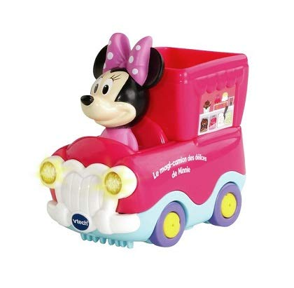 OTTO Vtech Disney - tut tut bolides Rose - Le Magi Camion des Delices de Minnie - Jouet Bebe Fille 1-3 Ans