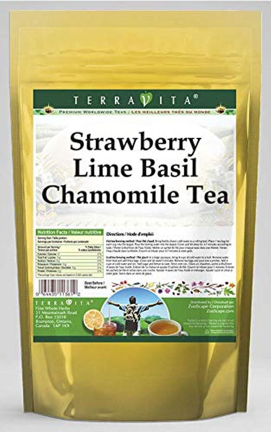 Strawberry Lime Basil Chamomile Tea (25 Tea Bags, ZIN: 542113) - 3 Pack