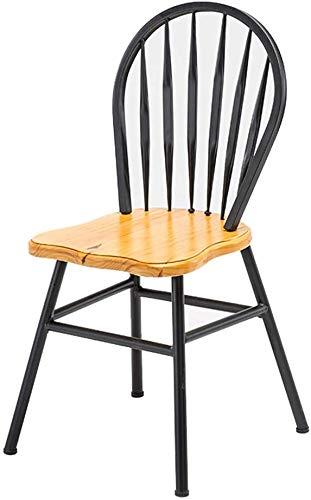QTQZDD Ronde tafelblad bar Bar Keuken Eetstoelkruk Zwarte bar Met rugleuning Kinderstoel Vrije tijd stoel Retro barkruk Industrieel ontwerp 2 2