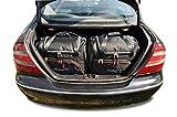 KJUST Kit de Bolsas 4 pcs Compatibles con Mercedes-Benz CLK 2002 - 2010 Maletero