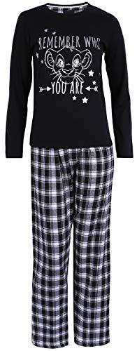 Pijama Negra El Rey león Disney XXS