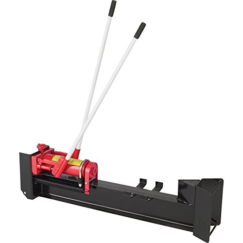 Cheapest Prices! Ironton Horizontal Manual Hydraulic Log Splitter - 10-Ton