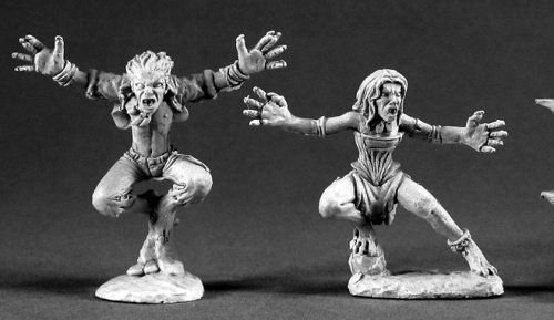 Vampire Spawn Dark Heaven Legends Minature Figures by Reaper