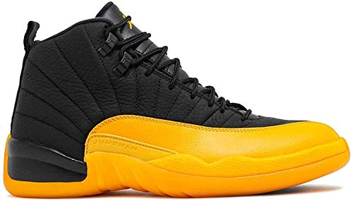 ZZCAM Men's AIR 12 Retro Deep Royal Fearless Fashion Classic Breathable Comfortable Lightweight Non-Slip Wearable High-Top Training Shoes Professional Basketball Shoes (10,University)