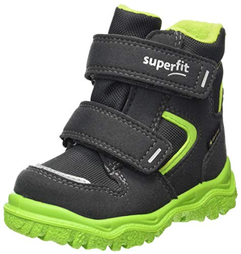 Superfit Husky1, Botte de neige, Grau/Grün 2000, 23 EU