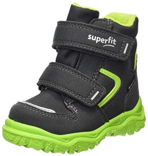 Superfit, Baby Jungen, Schneestiefel, Schnee, GRAU/GRÜN 2000, 28 EU