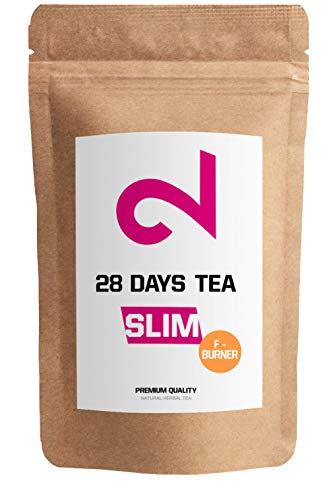 DUAL SLIM-28 Days F-Burner Tea | for Women & Men | Traditional Active Herbal Complex | 85g Loose Leaf | Without Additives | 100% Natural Dietary Supplement | Vegan & Gluten-Free | Germany Made