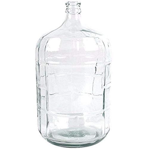 beautyfamily 5 gal Glass Carboy for Beer or Wine Making Beer Bottling Equipment