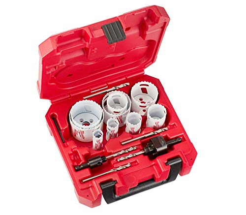 Milwaukee 49-22-4029 Tool HOLE DOZER Bi-Metal Hole Saw Set (17-Piece) with Case