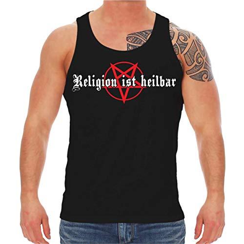 Männer und Herren Träger Religion ist heilbar Größe S - 8XL