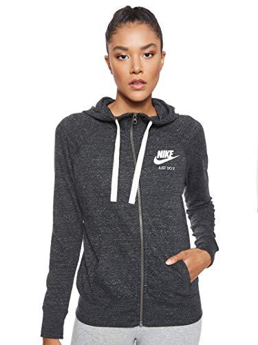 Nike Womens Sportswear Gym VNTG Hoodie FZ (S)