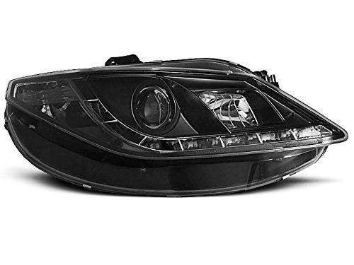 Koplamp Seat Ibiza 6J 08-17 Daylight LED zwart (E18)