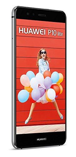 HUAWEI P10 lite Dual-SIM Smartphone (13,2 cm (5,2 Zoll) Touch-Display, 32 GB interner Speicher, Android 7.0) Schwarz - 6