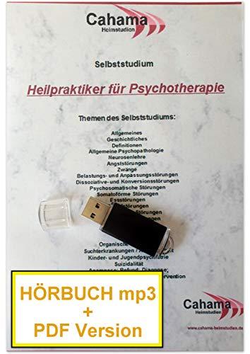 Heilpraktiker Psychotherapie HÖRBUCH MP3 + PDF Selbststudium auf USB-Stick, Aufl.: April 2020