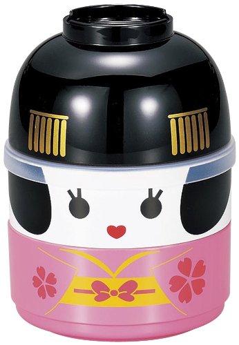 Hakoya Tierra Zen Bento - Fiambrera, plástico, Rosa,...