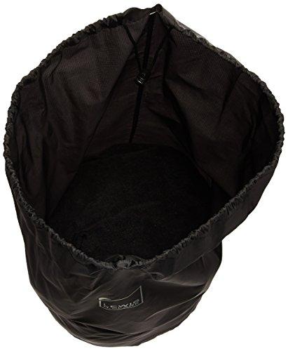 Lewis N. Clark Lightweight Water Resistant Nylon Drawstring Stuff Sack for Sleeping Bag, Backpacking, Camping, Hiking & Outdoors, Black, 30x13