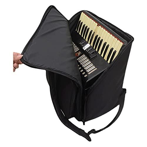 LYWER Akkordeon-Trolley-Riemenscheibe Tasche Rucksack 120 96 60 Bass Akkordeon Leistungstasche (Size : 60bass)