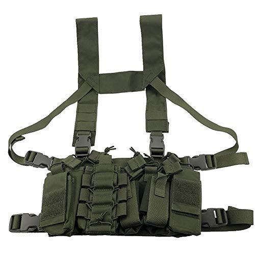Vioaplem Multicam Tactical Molle Vest Ammo Chest Rig Removable Hunting...
