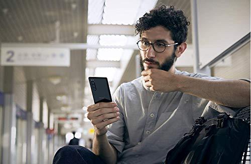 Sony Xperia 5 - Smartphone débloqué 4G (Ecran 21: 9 Cinemawide OLED de 6, 1' - 128 Go - Double SIM - Android Pie) -Noir