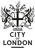 Decoración moderna para el hogar Etiqueta de la pared de la ciudad de Londres para Nursey Badge Animales Pared de vinilo extraíble para sala de estar 59Cm X 75Cm