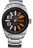 Hugo Boss OrangeBOSS Orange Herren-Armbanduhr XL London XXL Analog Quarz Edelstahl 1513114